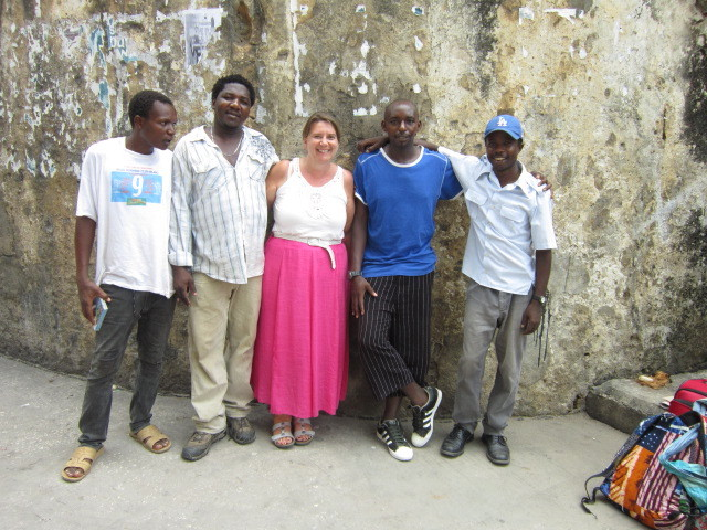 Saidi, Me, MD and Maki (I don't know the guy on the end with the white t-shirt name???