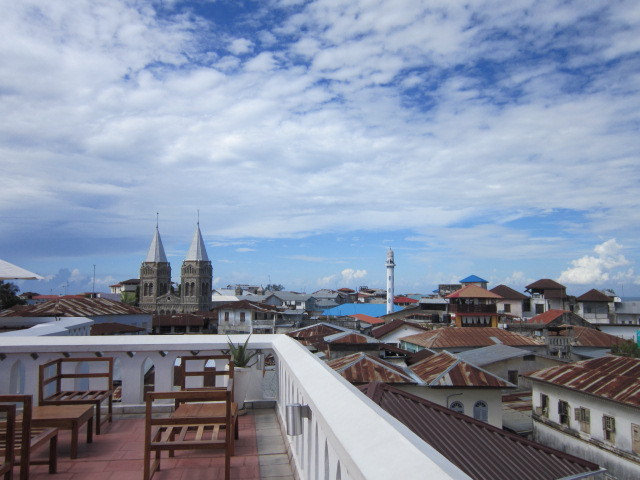 View from other side of the roof top terrace