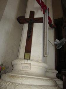 David Livingstone's cross