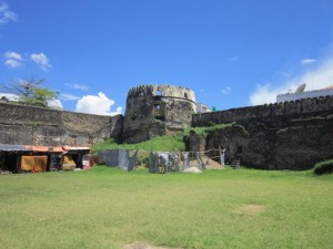 Inside the Old Fort (where the dancing was)
