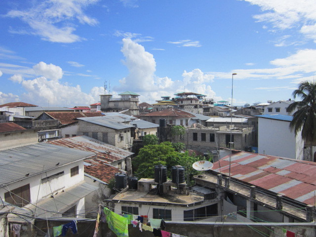 Roof top view of Stone Town