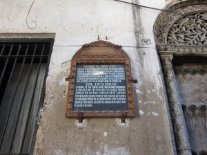 Slave Trader's house
