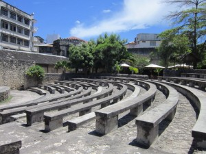 Old Theatre located in the Fort where the Zanzibar Film Festival is held
