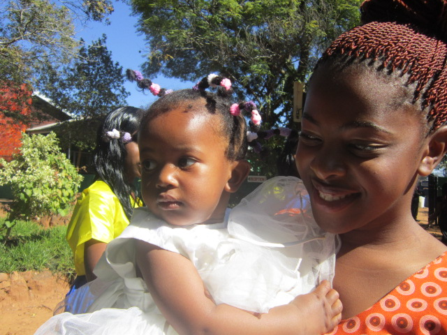 Chenia and one of her nieces