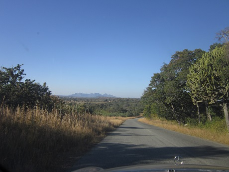 On the way to Great Zimbabwe