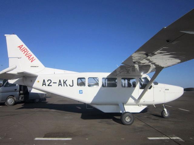 Our Mack Air bush plane