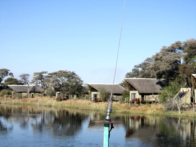 A water view of my lodge