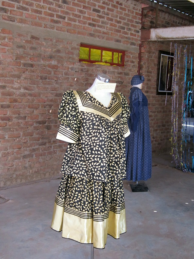 A more contemporary dress - I wondered if I could sneak away with it