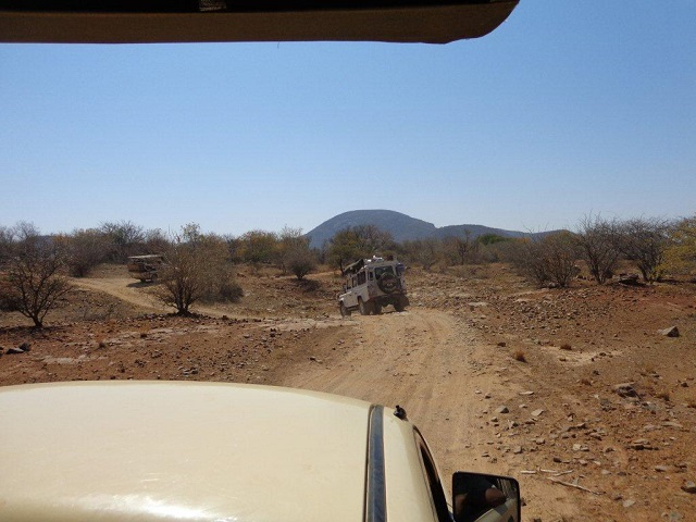 On our way to the Boma