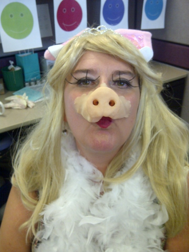 A beautiful Miss Piggy