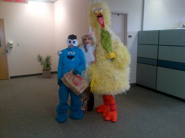 The Muppets visit the Assistant Deputy Minister's office